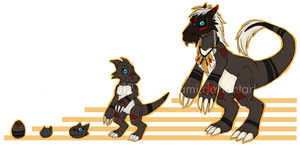 .:: Australian Digimon OC ::. by DarkOrigami
