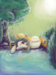 By The Pond by Maexis