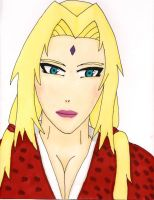 Lady Tsunade by 12bubbles12