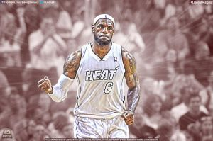 LeBron James by lisong24kobe