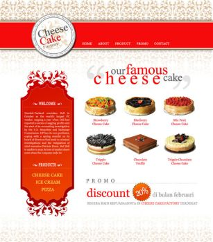 Cheese Cake Factory by behybrid