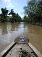 Mekong Boat Stock by prudentia