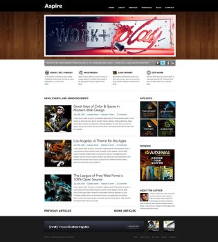 Aspire - Ultimate Wordpress by nathanr666