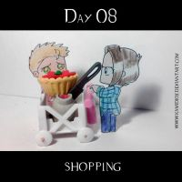 30 day OTP Challenge Feat. Winchesters: Day 08 by KamiDiox