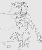 Alexstrasza - sketch by Cele-1-20