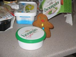 Gingerbread likes Cream Cheese by Roleigh-Prawn