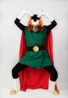 Great Saiyaman - Justice Pose by Oniakako