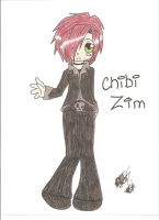 Yet another drawing of Zim Zum by JJMMW13