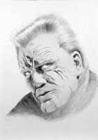 Marv from sin city by JPfx