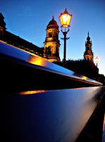 Dresden at night by Lykorias