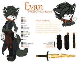 Project: 002 Scorch Reference by Peppermint-Kitten