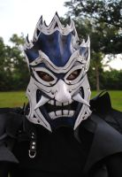 Zuko: Blue Spirit Leather Mask by Epic-Leather