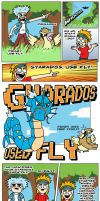 Gyarados Used Fly 2 by RichPerry