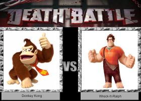 DEATH BATTLE Idea Donkey Kong VS Wreck-it-Ralph by JefimusPrime