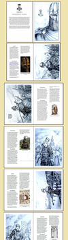HWS Artbook Preview - Chapter 1: Shieldmaidens by Gambargin