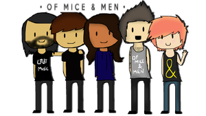 Of Mice and men by BlackKittyShelby
