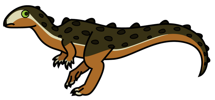 Scutellosaurus lawleri by Joevahkiin