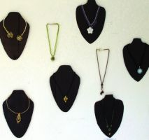 STAA expo necklace displey by green-envy-designs