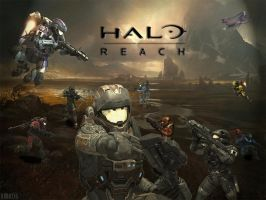 Halo Reach MP by IIDR4COII