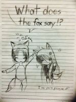 The Fox annoyed the fox by UnitInfinity