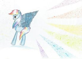 Rainbow Splash by VioletV