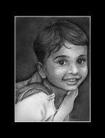 Atharva-one of my friend's kid by Abhilash-menon
