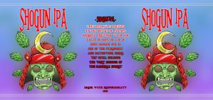 Shogun IPA label by Raikoh101