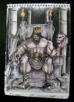 the mad king sketch color version vol.01 by rehAlone