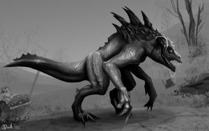 Deathclaw by duh-veed