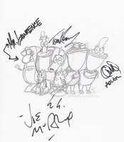 Rocko LIVE! Autographs 1 by F4TH0M