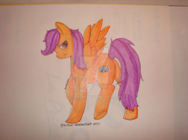 Adult Scootaloo by Gilouw