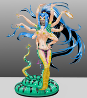 Accent Lines Snake Charmer II by dcolb121