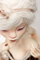 BJD Nyx with make-up by Misterminoudolls