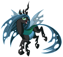 Queen Chrysalis by Jennilah