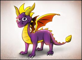 Spyro The Dragon by RatchetMario
