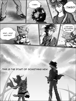 BnB II Prologue - Torn Skies Page 5 by FireReDragon