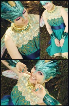 Tooth Rise of the Guardians dress Cosplay by Selphie01