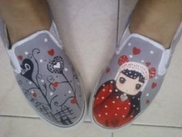 My new shoes :3 by Puja-chan