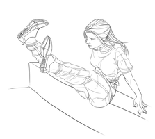 Parkour girl-4 by R0DV14S04M3N