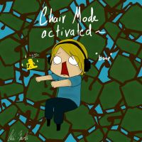 Chair mode activated! by chibi-raiden