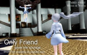MMD RWBY 2 Weiss - Friend (The Witch's House) by animefancy-mmd
