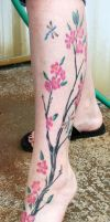 Cherry blossom by tattooedone