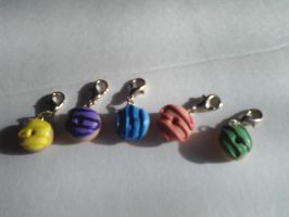 Sculpey Donut Charms by TinyTreats