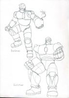 MM Robot Masters 03 by Gonzocartooncompany