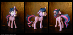 Crazy Twilight 3D Printed Figure by Clawed-Nyasu