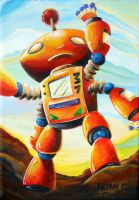 Randall's Robot by bryancollins
