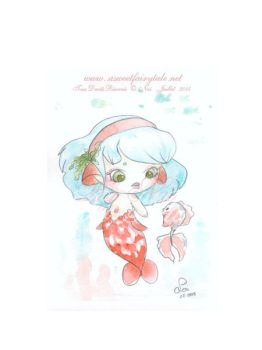 Aquarelle Sirene by Nailyce
