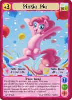Pinkie Pie - MLPMinis Profile Card by MLPMinis