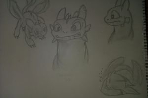 Toothless by CJG9774
