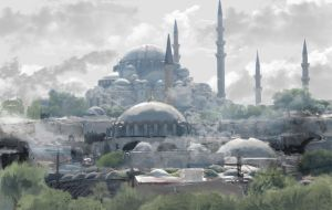 constantinople by amantelombardi